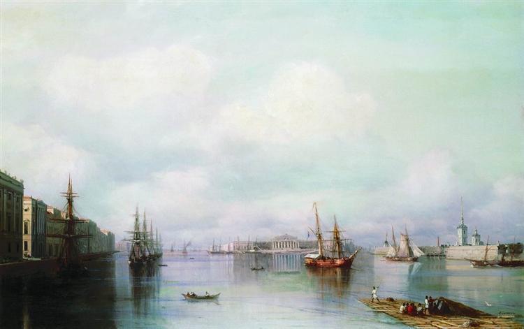 Ajvazovskij-Ivan-vid-peterburga