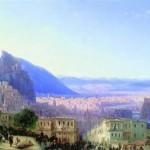 Ajvazovskij-Ivan-vid-tiflisa-ot-Seid-Abaza