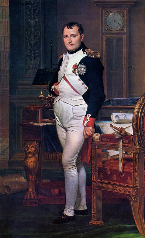 David-Zhak-Lui-napoleon-bonapart-v-svoem-kabinete-v-tyuilri