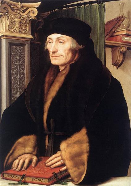 Golbein-Gans-portret-erazma-rotterdamskogo