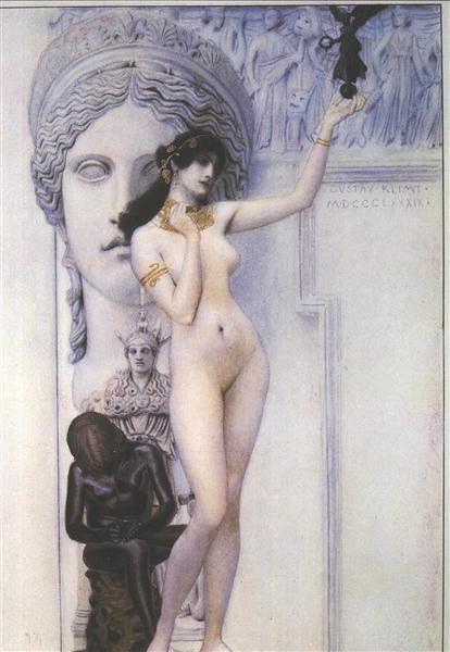 Klimt-Gustav-allegoriya-skulptury