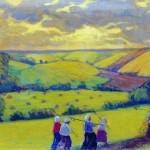 Kustodiev-Boris-senokos