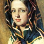 Venecianov-Aleksey-devushka-v-platke