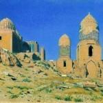 Veresshagin-Vasilij-mavzolej-shah-i-zinda