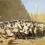 Veresshagin-Vasilij-u-krepostnoj-steny-pust-voydut