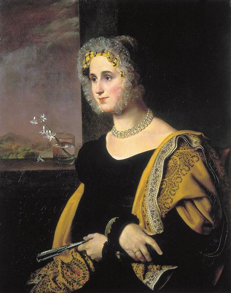 Kiprenskij-Orest-portret-ekateriny-sergeevny-avdulinoj