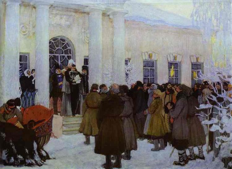 Kustodiev-Boris-chtenie-manifesta
