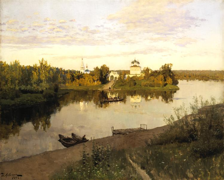 Levitan-Isaak-vechernij-zvon