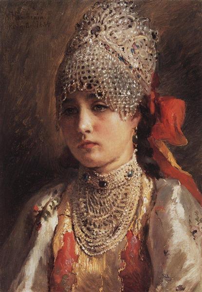 Makovskij-Konstantin-boyaryshnya