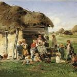 Makovskij-Vladimir-krestyanskie-deti
