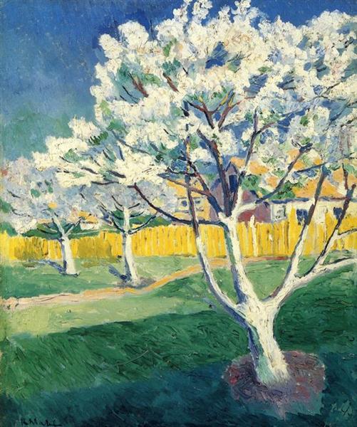 Malevich-Kazimir-yablonya-v-cvetu