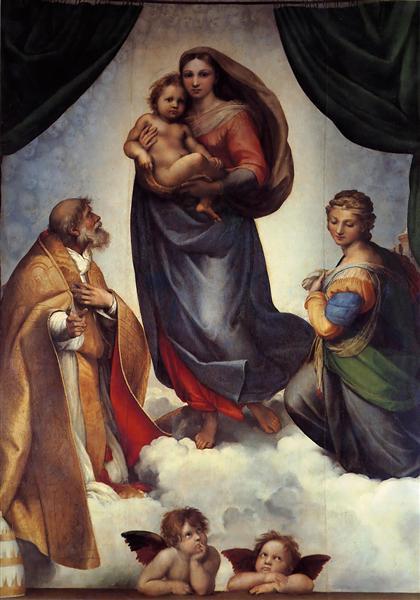 Rafael-Santi-sikstinskaya-madonna