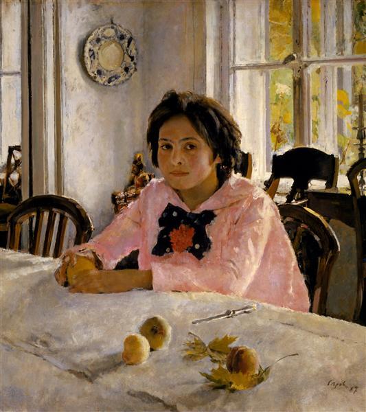Serov-Valentin-devochka-s-persikami