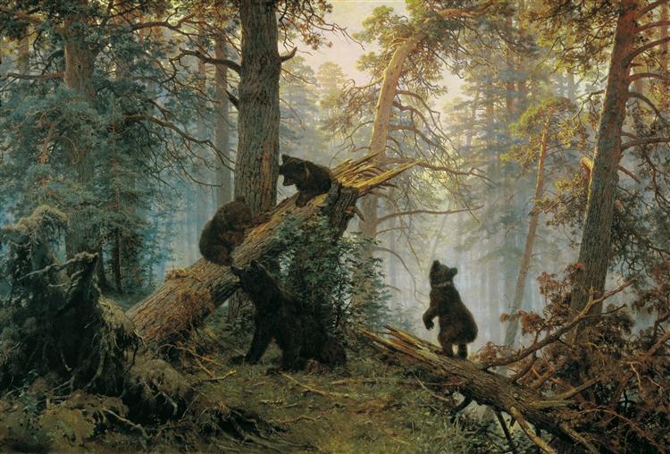 Shishkin-Ivan-utro-v-sosnovom-lesu