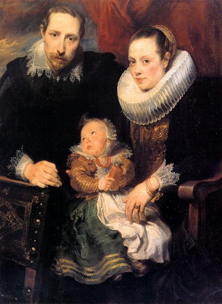 Van-Deik-Antonis-semejnyj-portret