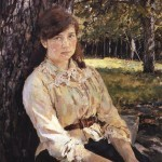 Serov-Valentin-devushka-osvesshennaya-solncem