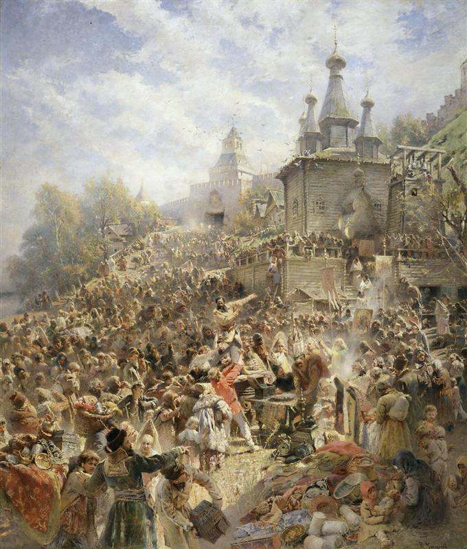 Makovskij-Konstantin-minin-na-plosshadi-nizhnego-novgoroda