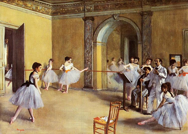 Dega-Edgar-tancevalnyj-klass-v-opere