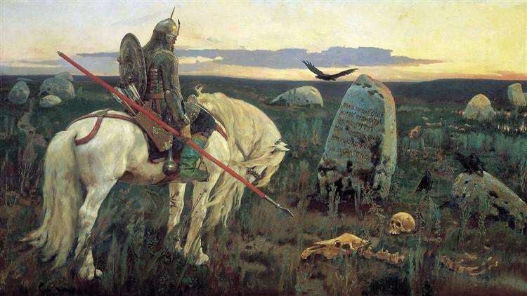 Vasnetsov-Viktor-vityaz-na-rasputye