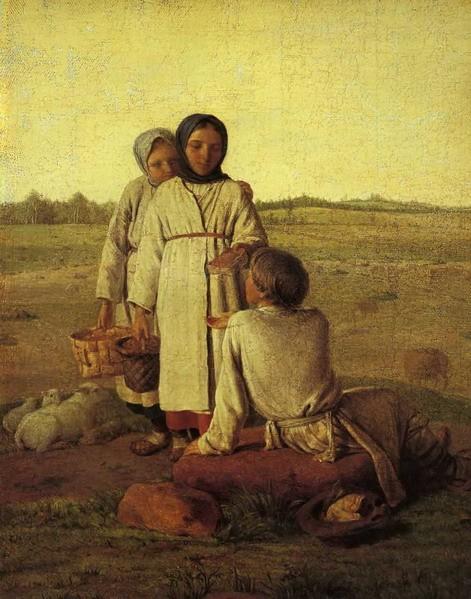 Venecianov-Aleksey-krestyanskie-deti-v-pole