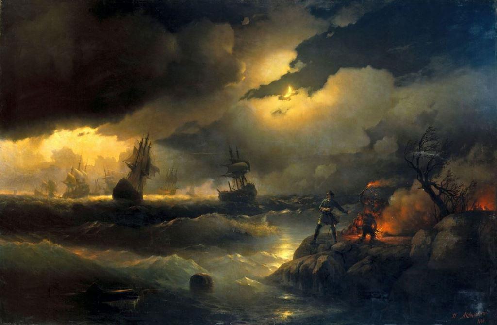 Ajvazovskij-Ivan-petr-1-pri-krasnoj-gorke