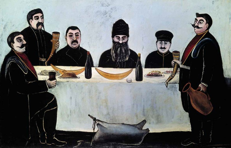 Pirosmani-Niko-druzya-begosa