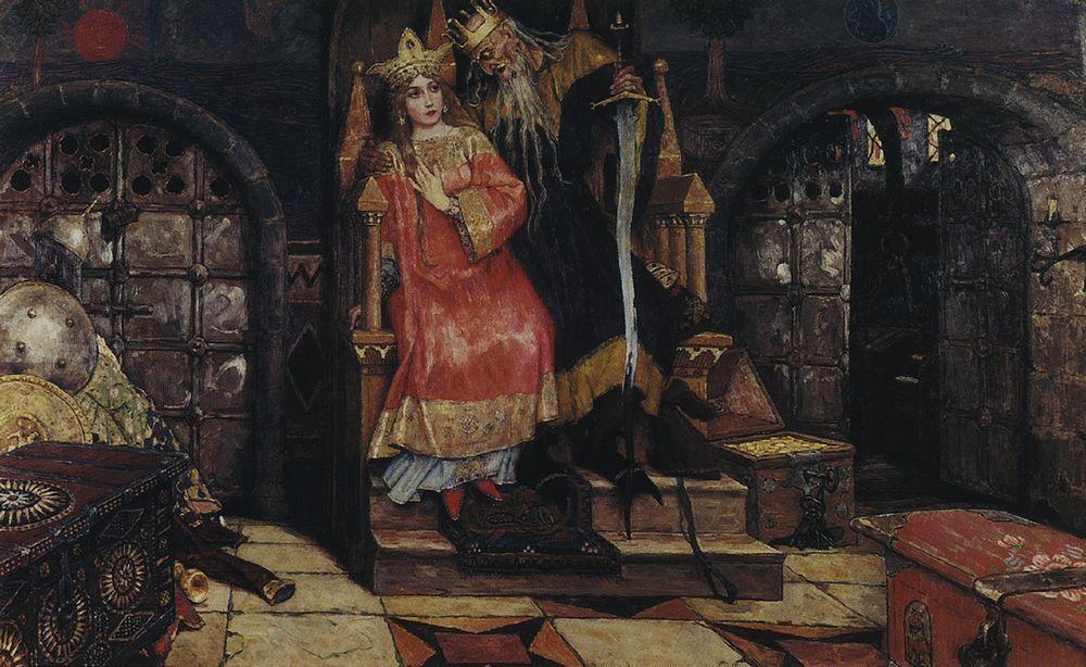 Vasnetsov-Viktor-kashhej-bessmertnyj