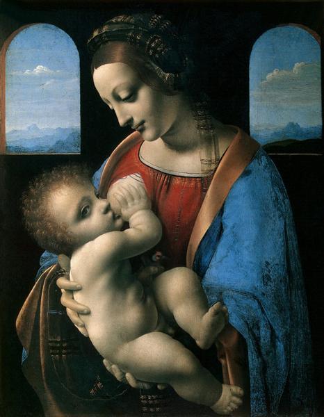 Leonardo-da-Vinchi-madonna-litta