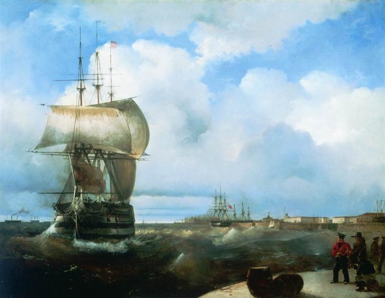 Ajvazovskij-Ivan-bolshoj-reid-v-kronshtadte