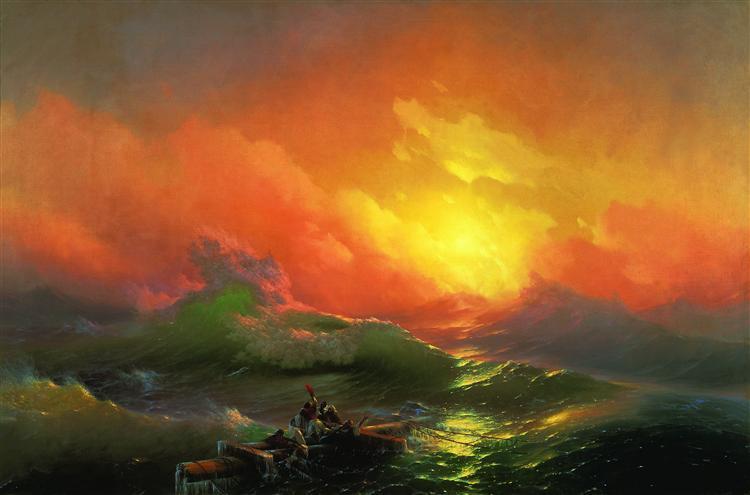 Ajvazovskij-Ivan-devyatyj-val