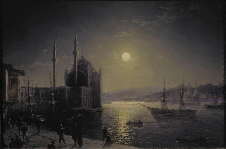 Ajvazovskij-Ivan-lunnaya-noch-na-bosfore