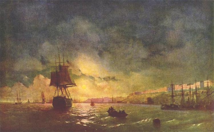 Ajvazovskij-Ivan-odessa-nochyu