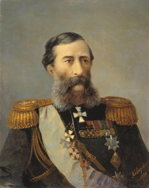 Ajvazovskij-Ivan-portret-Loris-Melikova