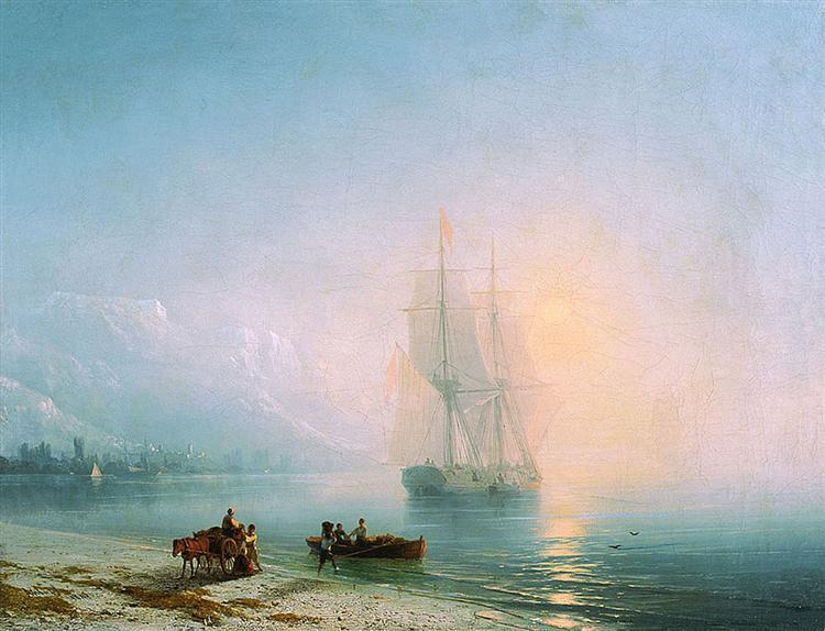 Ajvazovskij-Ivan-spokoinoe-more