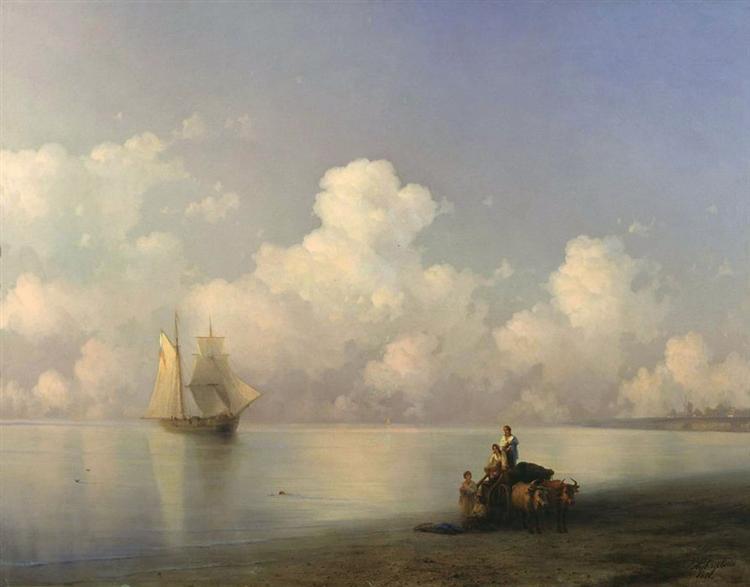 Ajvazovskij-Ivan-vecher-na-more