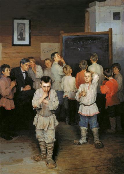 Bogdanov-Belskij-Nikolaj-ustnyj-schet