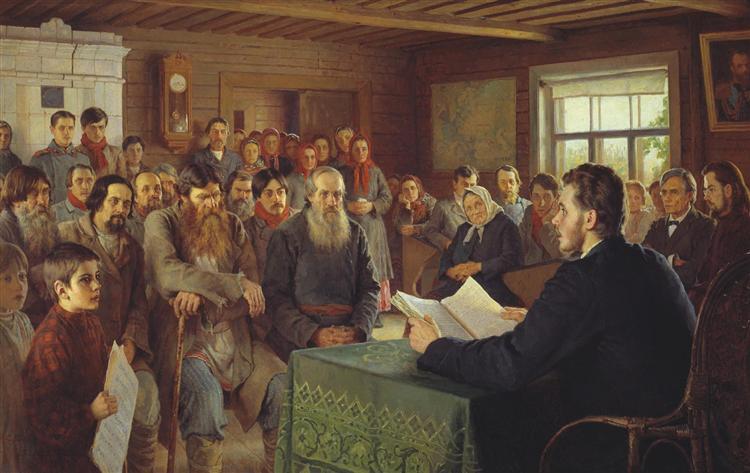 Bogdanov-Belskij-Nikolaj-voskresnoe-chtenie-v-selskoj-shkole