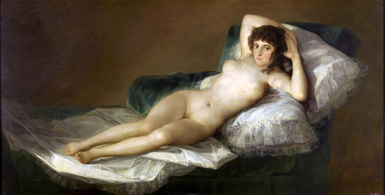 Goya-Francisko-maha-obnazhennaya