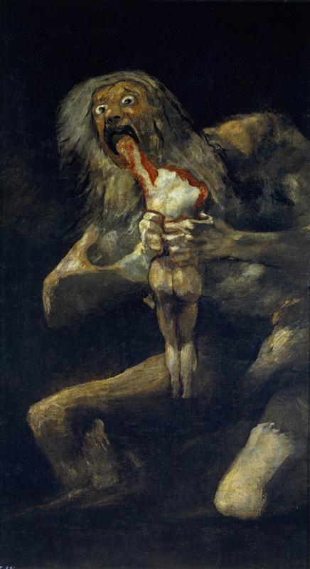 Goya-Francisko-saturn-pozhirayusshij-svoego-syna