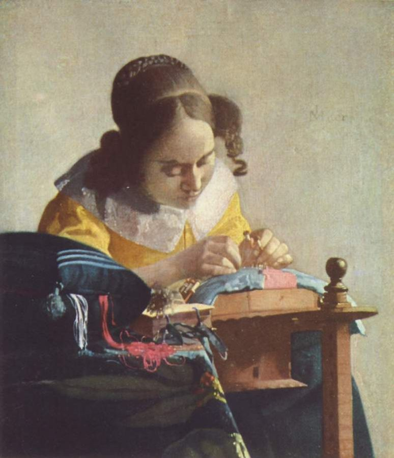 Vermeer-Yan-kruzhevnica