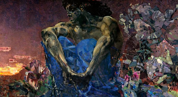 Vrubel-Mihail-sidyasshij-demon