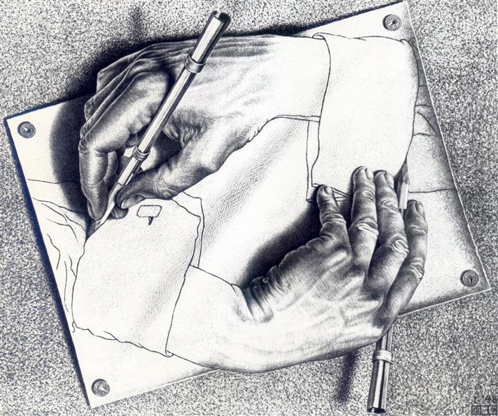 Esher-Mauric-risuyusshie-ruki
