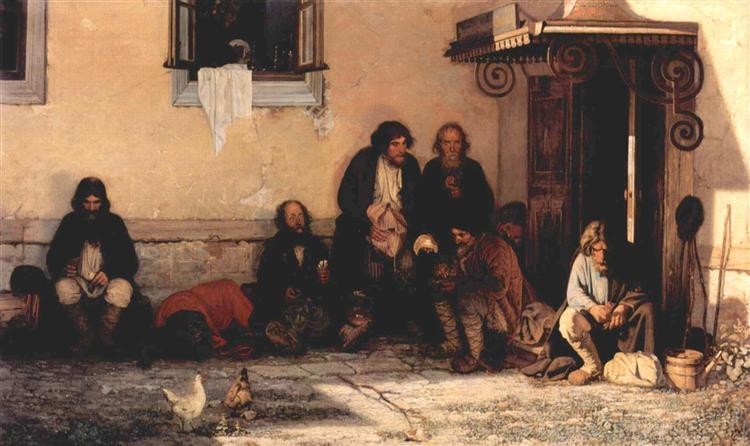 Myasoedov-Grigorij-zemstvo-obedaet