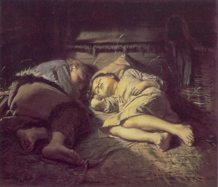 Perov-Vasilij-spyasshie-deti