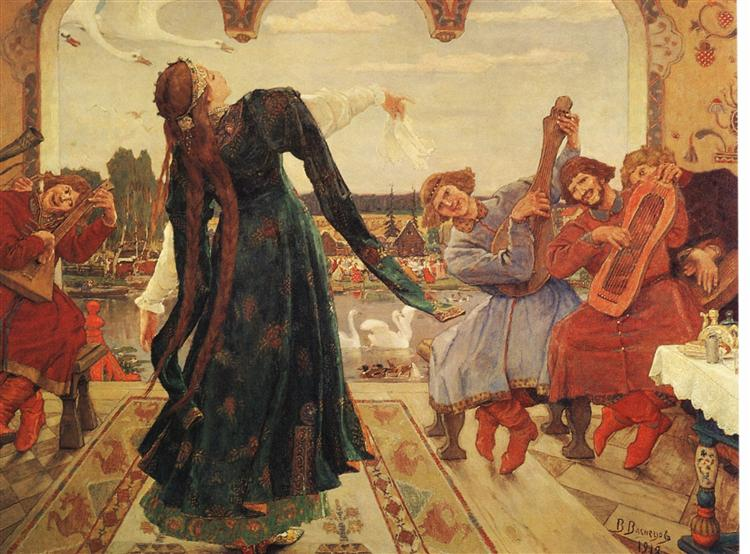 Vasnetsov-Viktor-carevna-lyagushka