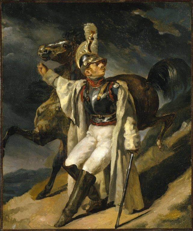 Zheriko-Teodor-ranenyj-kirassir