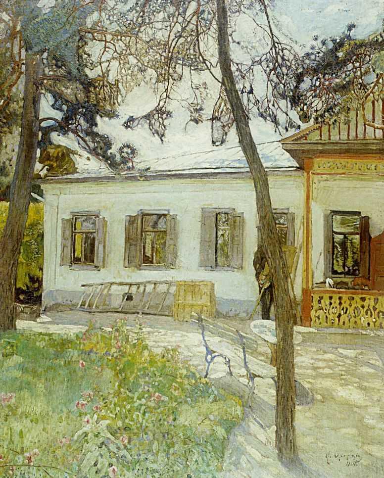 Brodskij-Isaak-na-dache