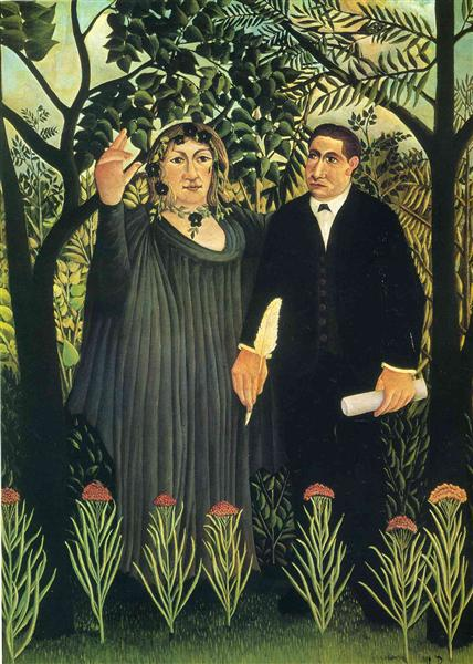 Russo-Anri-muza-vdohnovlyayusshaya-poeta