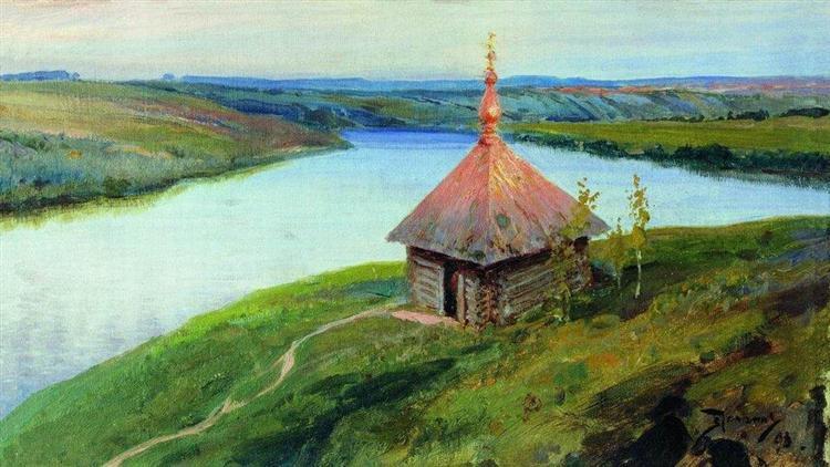 Polenov-Vasilij-chasovnya-na-beregu-oki