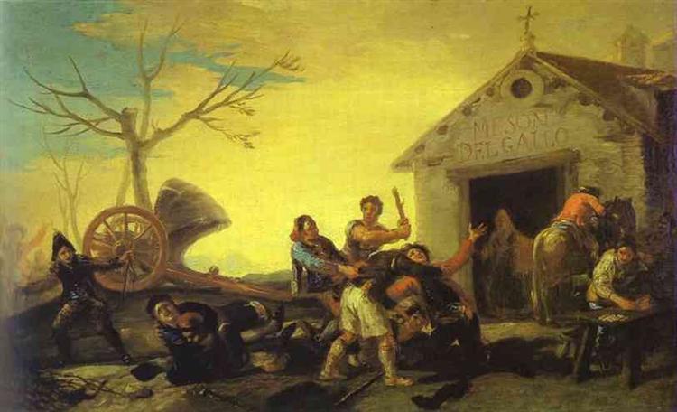 Goya-Francisko-draka-v-harchevne
